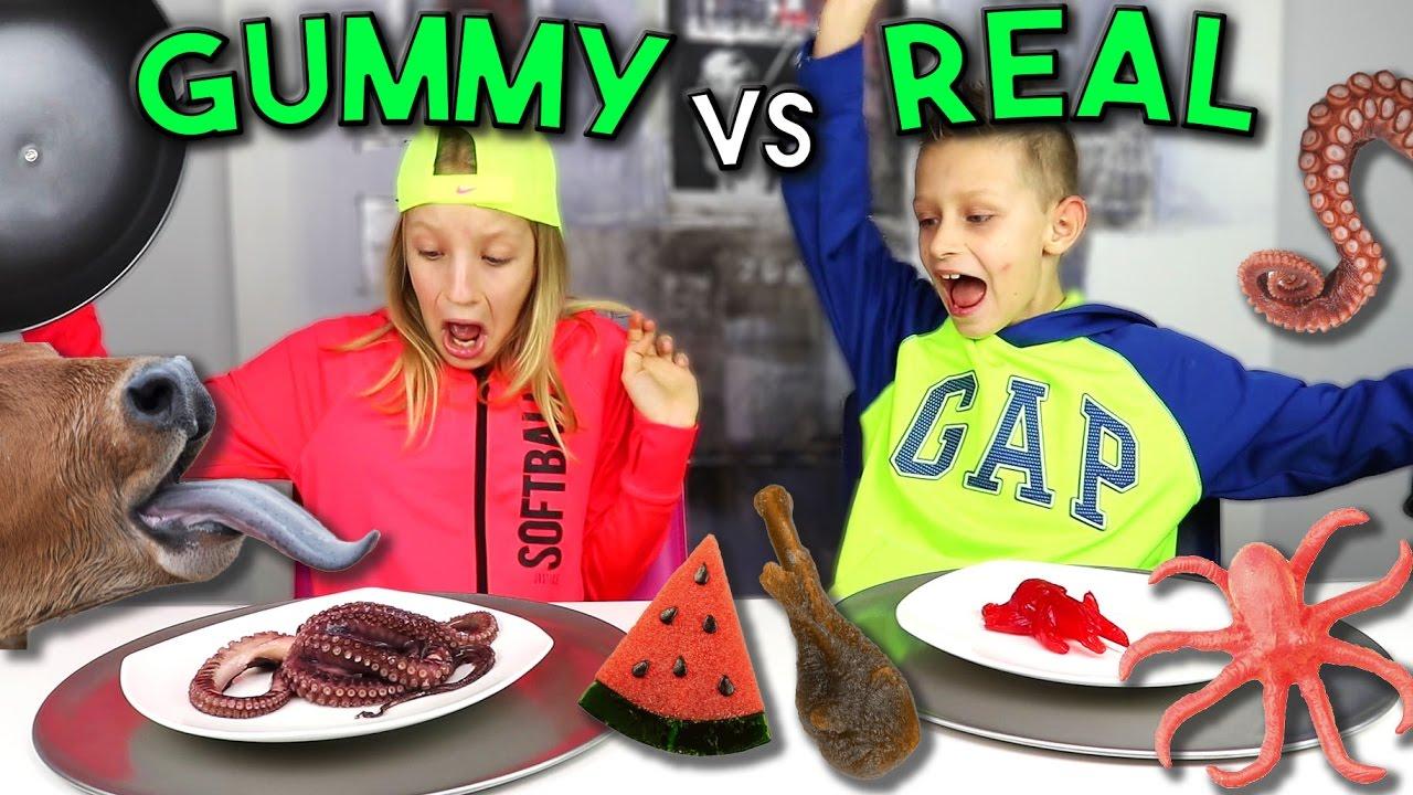 Download GUMMY vs REAL 2