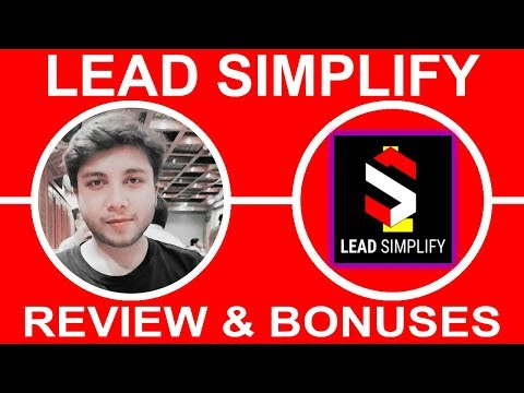Lead Simpify Review ⚠️WARNING⚠️ Don't Get Lead Simpify Without My 😝 Crazy 😝 Bonus Bundle!