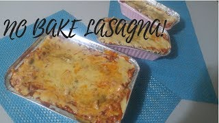 NO BAKE LASAGNA | NO BAKE RECIPE  | PHILIPPINES