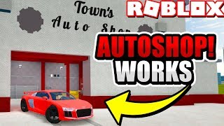 Finally Some Great News! The *NEW* Autoshop is FIXED! (Roblox Vehicle Simulator)