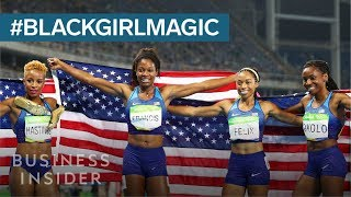 Decorated Olympian Allyson Felix On The Importance Of #BlackGirlMagic