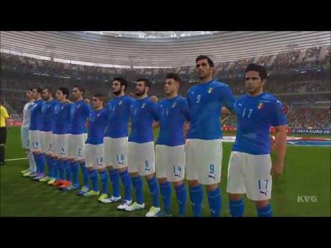 PES 2016 – UEFA Euro 2016 – Belgium vs Italy | Gameplay (HD) [1080p60FPS]