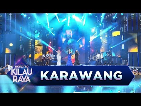 Zaskia Gotik, Siti Badriah dan Poppy Capella [ Bojo Galak] - Road to Kilau Raya (18/3)