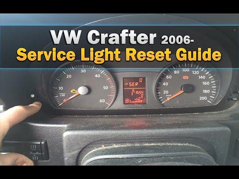 VW Crafter Service Light Reset