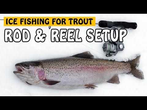 MY ICE FISHING ROD AND REEL SETUPS   Fishing With Rod