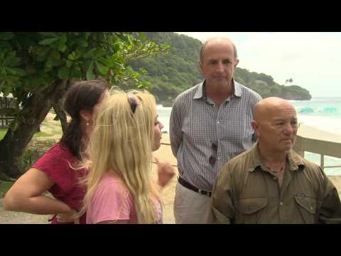 Go Back S2 Extended Footage   Imogen Bailey attacks Peter Reith on Christmas Island