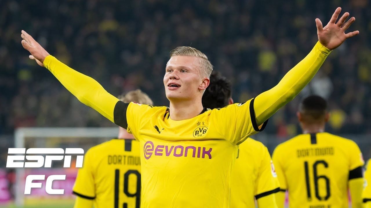 Borussia Dortmund's Erling Haaland Says He Must Improve After ...