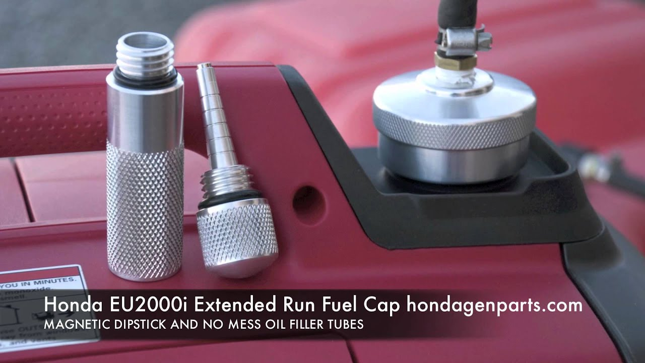 Honda EU2000i Extended Run Fuel Cap - YouTube
