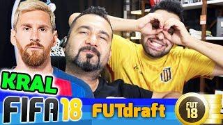 KRALSIN MESSI!   FIFA 18 FUT DRAFT-FUTMAS