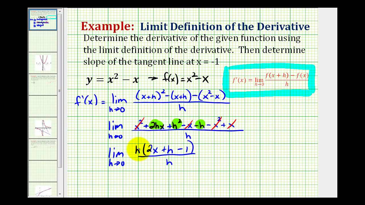 what is the derivative of ex