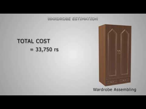 Wardrobe assembly and estimation cg animation