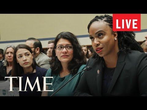 News Conference: Alexandria Ocasio-Cortez, Ilhan Omar, Ayanna Pressley & Rashida Tlaib | LIVE | TIME