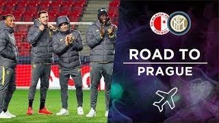 SLAVIA PRAHA vs INTER | ROAD TO PRAGUE | From Milano to Sinobo Stadium! ✈⚫🔵🇨🇿
