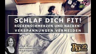 #1 Schlaf dich fit! Nackenverspannungen und Rückenschmerzen vermeiden - Royal Dreams
