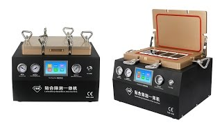 2 in 1 LCD Touch Screen Repair Refurbish Machine Vacuum Laminating Autoclave Bubble Remover