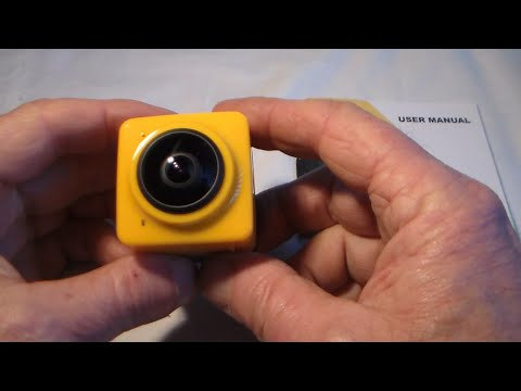 Cube 360  Degree Wide Angle Action Camera Unboxed and Tested
