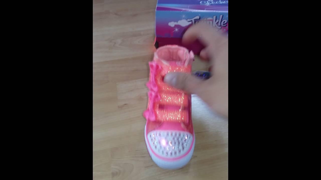 skechers twinkle toes battery
