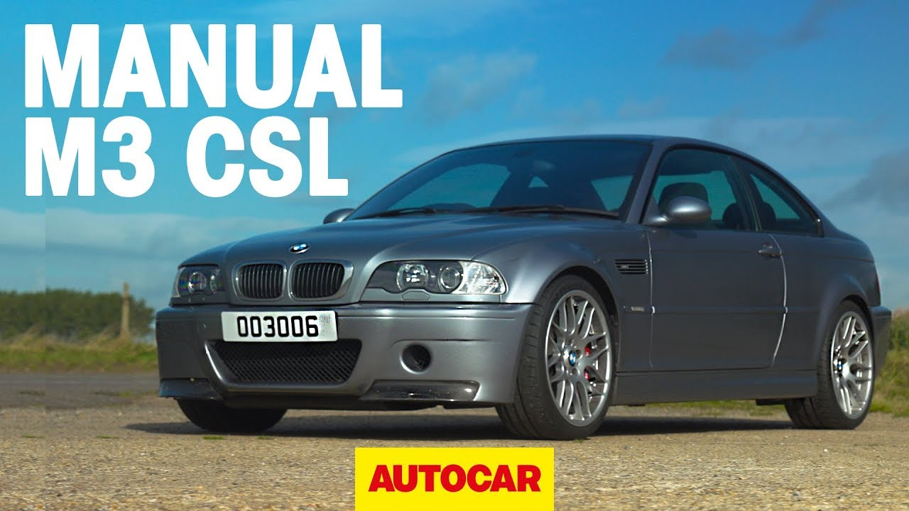 BMW M3 CSL with MANUAL GEARBOX review | BMW's greatest M car? | Autocar