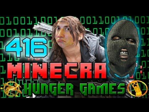 Minecraft: Hunger Games w/Mitch! Game 416 - Hacker Patrol!