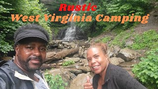 Rustic West Virginia Camṗing and Its Beautiful Waterfalls #New River Campground