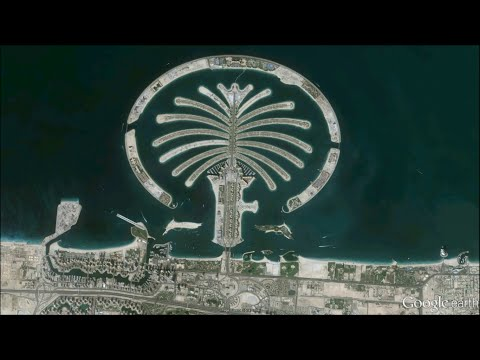 A Satellite History of Palm Islands - Dubai