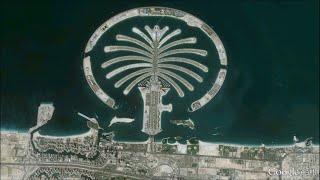 A Satellite History Of Palm Islands   Dubai