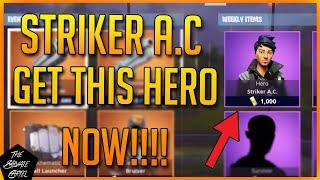 FORTNITE STW: GET THIS HERO MAINTENANT!! STRIKER A.C BEST FARMING HERO!!