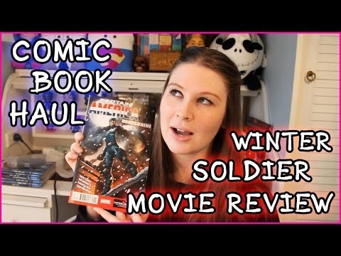 MASSIVE AMERICAN COMIC BOOK HAUL & WINTER SOLDIER MOVIE REVIEW