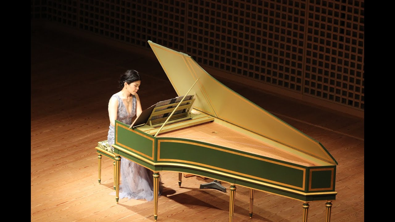 Over the Rainbow (arranged by Toru Takemitsu) - Aya Hamada, harpsichord