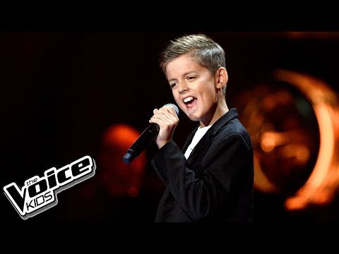 "Eryk Waszczuk – ""When a Man Loves a Woman"" – Przesłuchania w ciemno – The Voice Kids Poland"