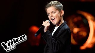 "Eryk Waszczuk - ""When a Man Loves a Woman"" - Przesłuchania w ciemno - The Voice Kids Poland"