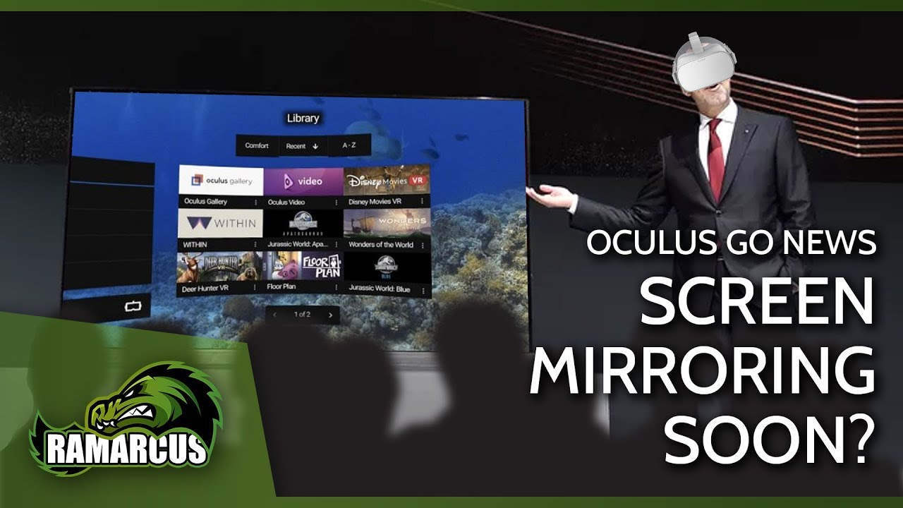 Oculus Go News // Screen Mirroring Coming SOON?