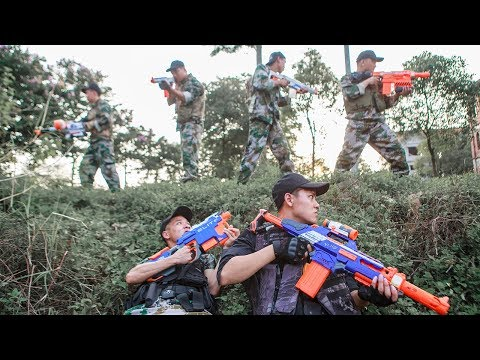 Nerf Guns War : The War  Hunting Between Crime Group  And SEAL TEAM Special