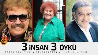 """Edip Akbayram-Ersen Dinleten-Selda Bağcan """"3 İnsan 3 Öykü"""" Belgeseli"""