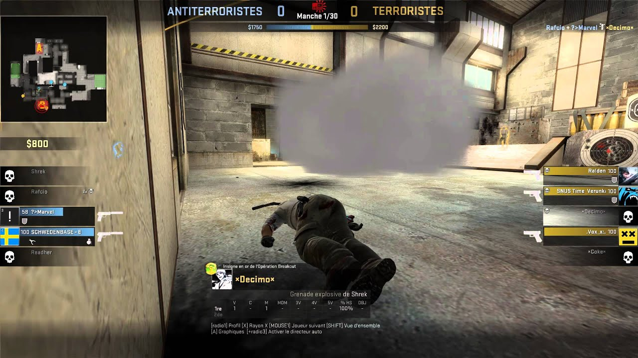 how to give decoy in csgo