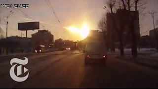 Meteor Hits Russia, With Debris Blanketing Siberia - Fire in the Russian Sky