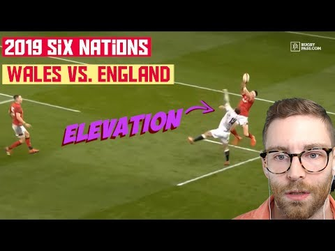 American REACTS to RUGBY | Six Nations 2019 Wales vs. England