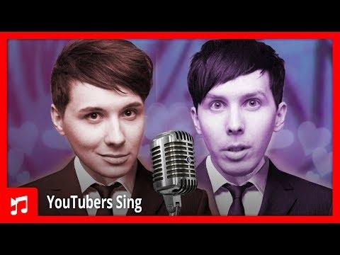 Dan and Phil Singing Toxic