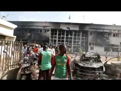 PIEDS NUS de Christian Carmosino - La révolution d'octobre au Burkina Faso et sa transition.