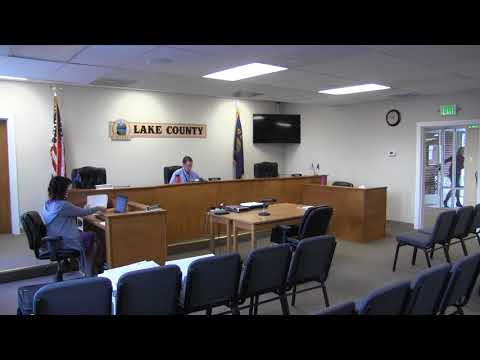 Lake County Commissioners Work/Regular Session 10-17-2017