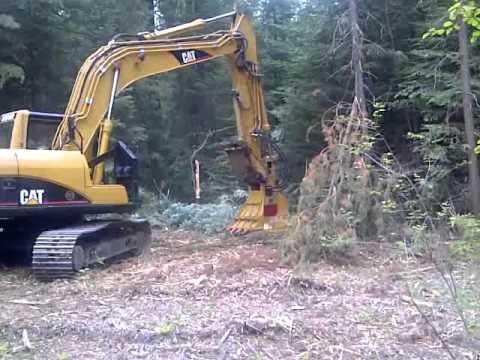 S & P Land Services CAT 315 Excavator with RDM Mulcher