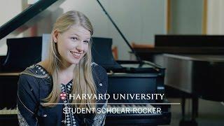 Harvard student scholar-rocker