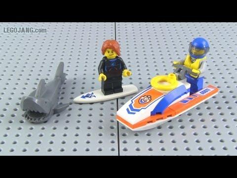 Lego Coast Guard Surfer Rescue Set 60011 Review Youtube