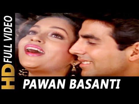 Pawan Basanti Behne Lagi | Sadhana Sargam, Suresh Wadkar | Kayda Kanoon Songs | Akshay Kumar