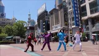 上海遠征に行った時に、南京東路で「SUN SUN SUN」を踊ってみました。(...