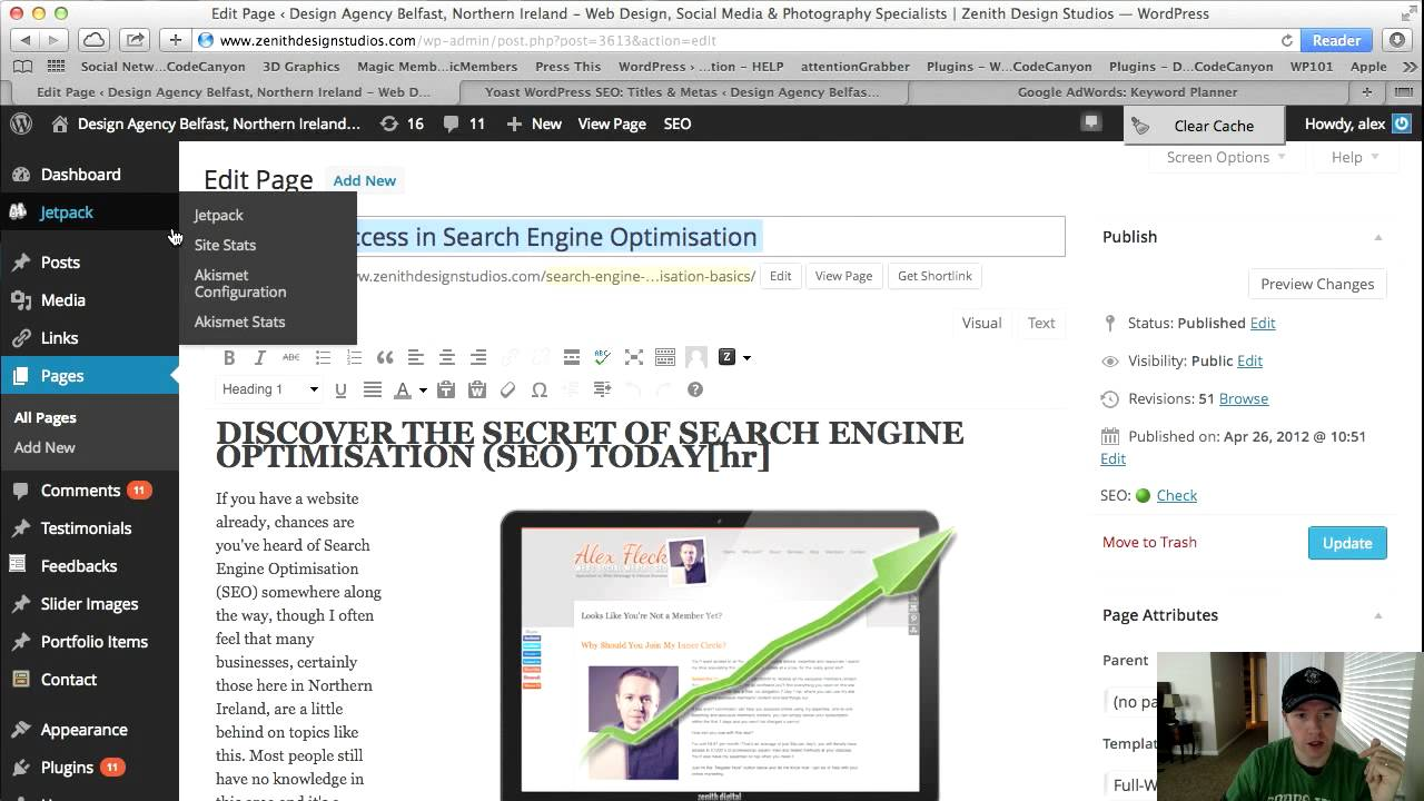 How to SEO Your WordPress Website - Search Engine Optimization & Insider Secrets - YouTube