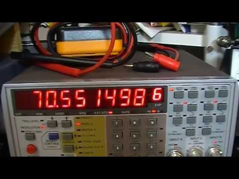 #14 Icom IC-735 PLL and VCO repair and alignment with back ground information