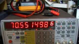 14 icom ic 735 pll and vco repair and alignment with back ground information