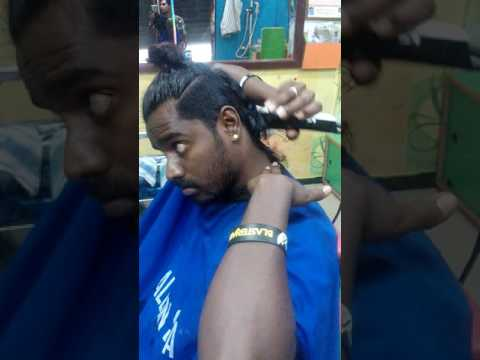 How to self haircut.. Release by SURYA SALOON Tirupur.tamilnadu