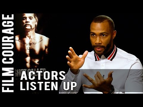 Advice To Actors Trying To Break Into Hollywood by Omari Hardwick